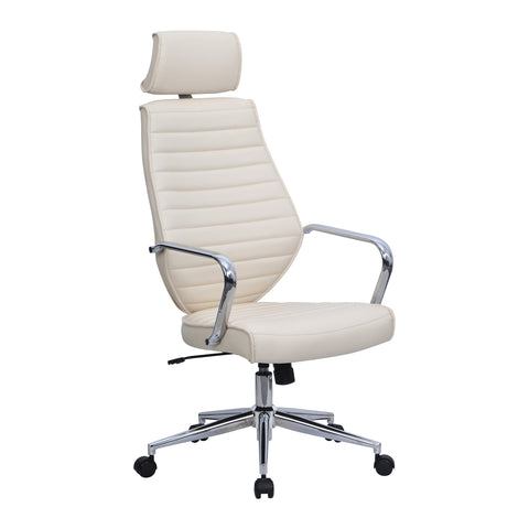 Atlas High Back Leather Effect Designer Chair