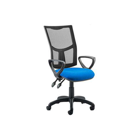 Eclipse II Lever Task Operator Chair Mesh Back