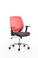 Dura Task Operator Chair Black With Arms