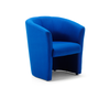 Image of Blue waiting room chair