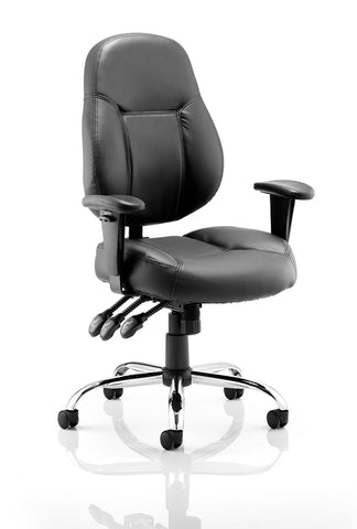 Leather task chair cheap