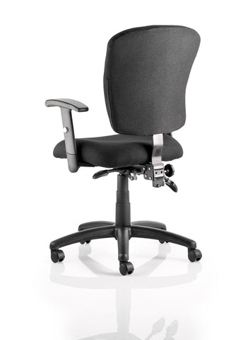 Black cheap operator chair