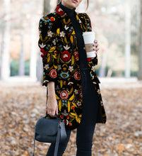 Load image into Gallery viewer, Autumn And Winter   Fashion Printed Long-Sleeved Suit Jacket&Cardigan