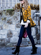Load image into Gallery viewer, Autumn and winter   fashion printing irregular jacket