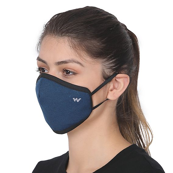 SUPERMASK W95 Plus Reusable Outdoor Respirator - GRINDLE BLUE - Pack Of 1 - De Bawa Inc.