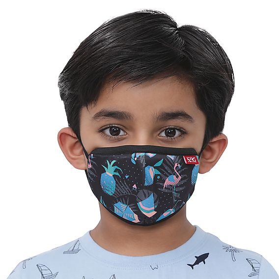 Wiki Champ Mask – Beach Black  – Pack Of 7 - De Bawa Inc.