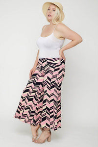 Chevron Print Pants