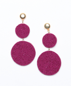 Like Frida Statement Earrings - De Bawa Inc.