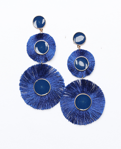 Remi Beaded Fringe Earrings - De Bawa Inc.
