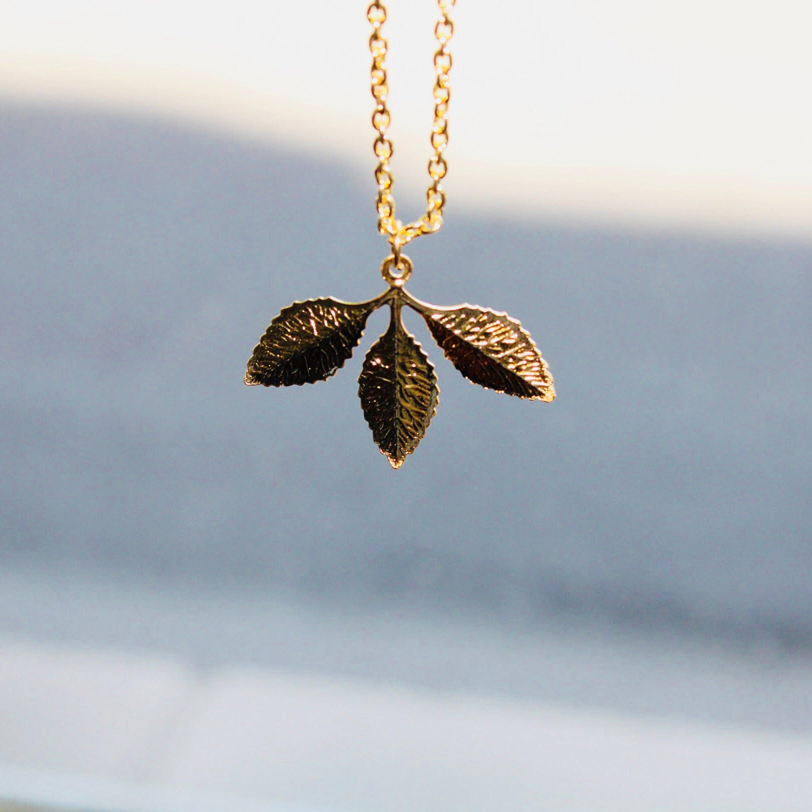 Leaf Necklace - De Bawa Inc.