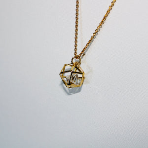 Soho Geometric Pendent Necklace