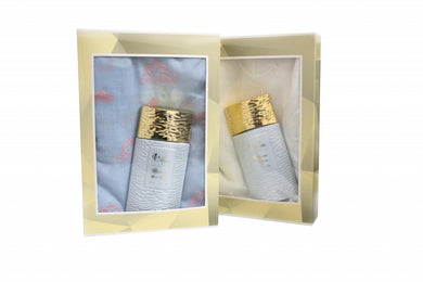 35ml perfume gift box (frag. 10) with variable fantasy Chogan scarf