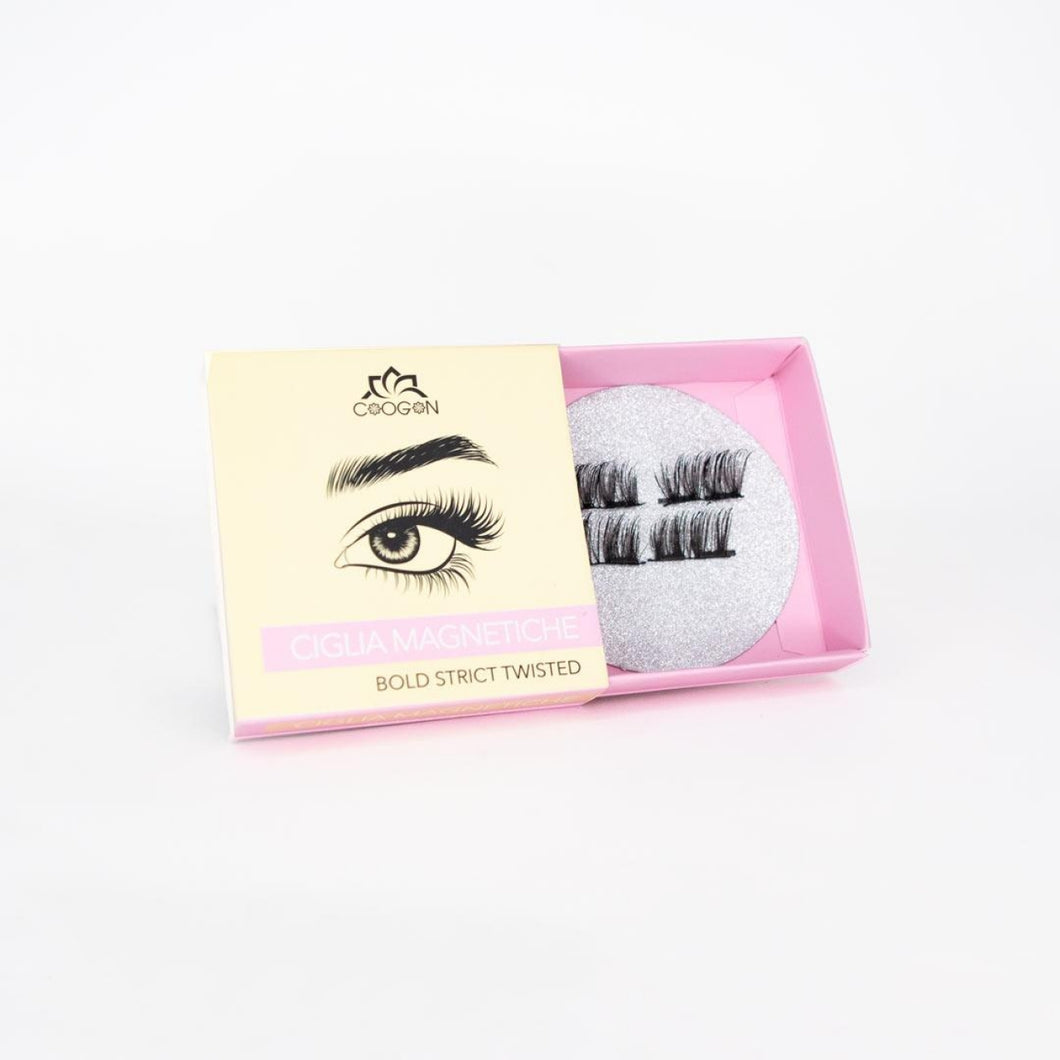 Magnetic Eyelashes Bold Strict Twisted