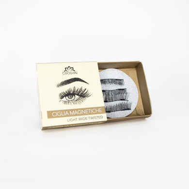 Magnetic Eyelashes Light Wide Twisted
