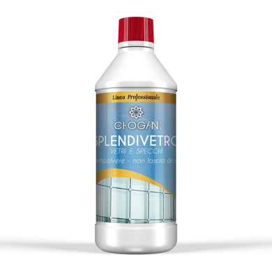 SPLENDIVETRO Bright action detergent for glass and mirrors (750 ML)