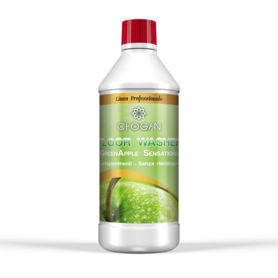 GREEN APPLE SENSATIONS Floor washing detergent without rinsing (750 ML)