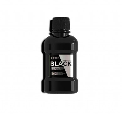 BLACK TRAVEL ACTIVATED CARBON MOUTHWASH 80 ML