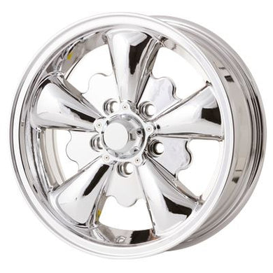 Pack 5 spokes chrome 5x112