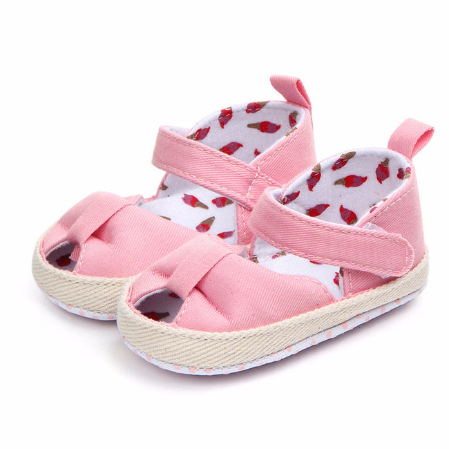 cd3af89768 Summer Baby Sandals Cotton Fish Mouth Fashion Casual Baby Girls Sandals  Newborn Baby Shoes Comfortable Breathable