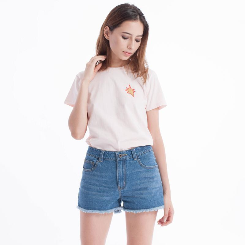 Pop Styles Baby Tee (Peach)