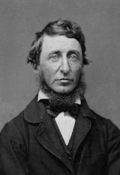 Henry Thoreau wore a Neck Beard Style