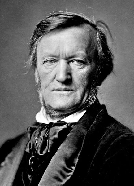 Richard Wagner wore a Neck Beard Style