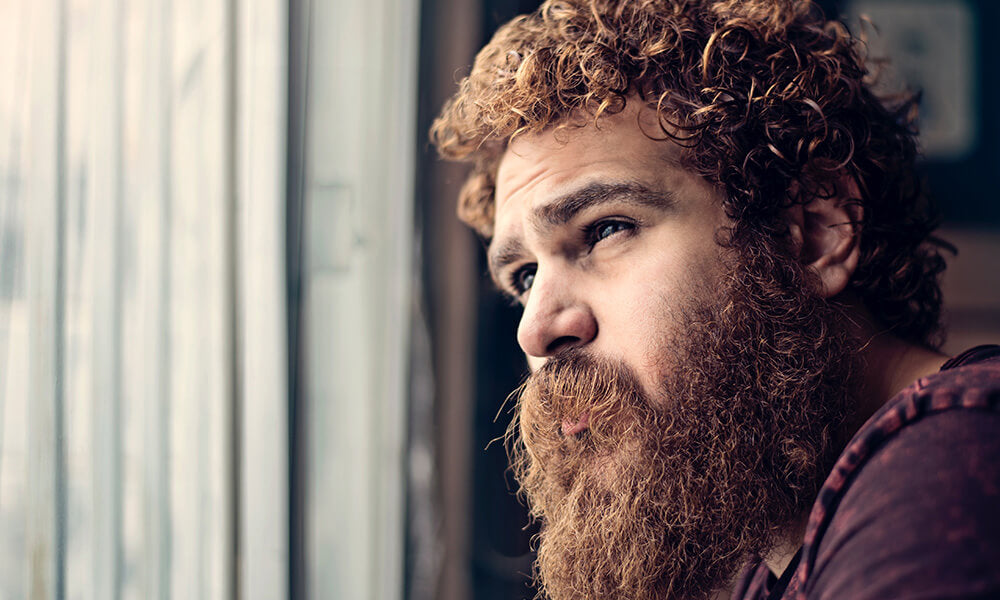 Age plays a factor when it comes to beard growth