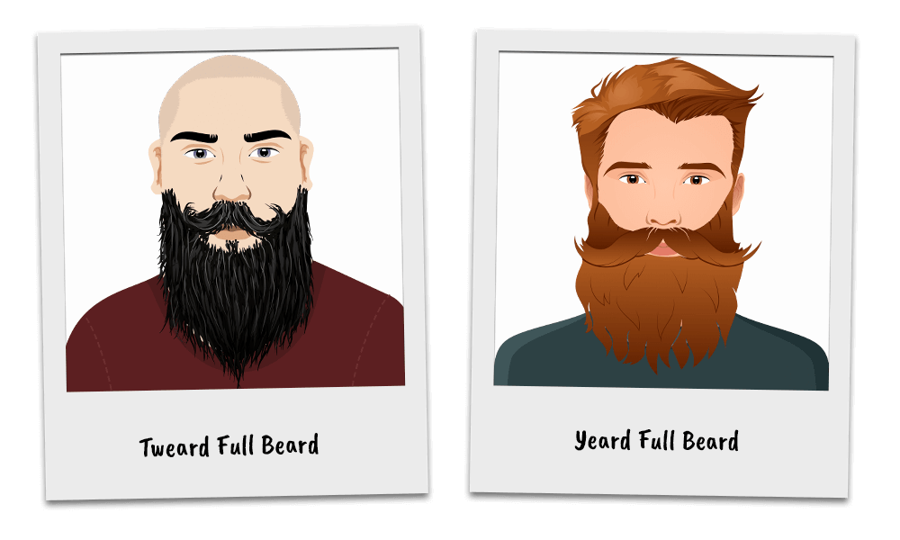 Variations of the Full Beard Style