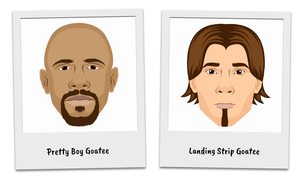 Variations of the Goatee Beard Style