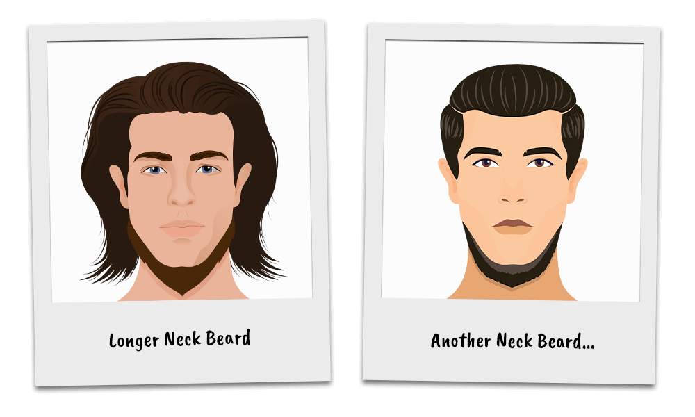 Variations of the Neck Beard Style