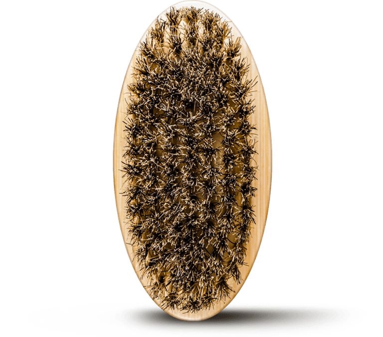Boar's Hair Beard Brush
