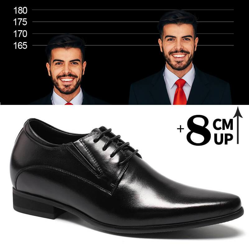 Chamaripa Height Elevator Mens Dress Shoes With High