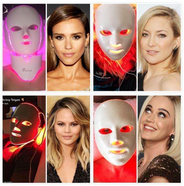 Image result for face photon mask therapy