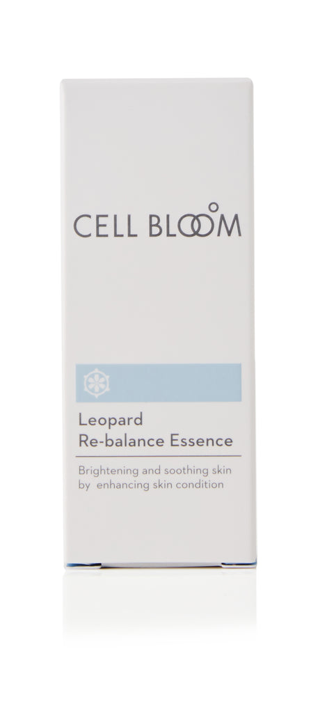 CELL BLOOM | Leopard Re-balance Essence #장윤주 에센스 | Korean No.1 Essence I Anti-Aging & Wrinkle Reduction Effects I Brightening & Soothing Skin | 30ml/1fl.oz.