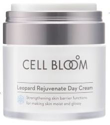 CELL BLOOM | Korean Beauty Stem Cell Day Cream I K-Beauty Leading Brand Cell Bloom Made By No. 1 Korean Pharma Company I Stem Cell Conditioned Medium 7,000ppm I Natural Leopard Flower Ingredients| 50ml /1.7 fl.oz.