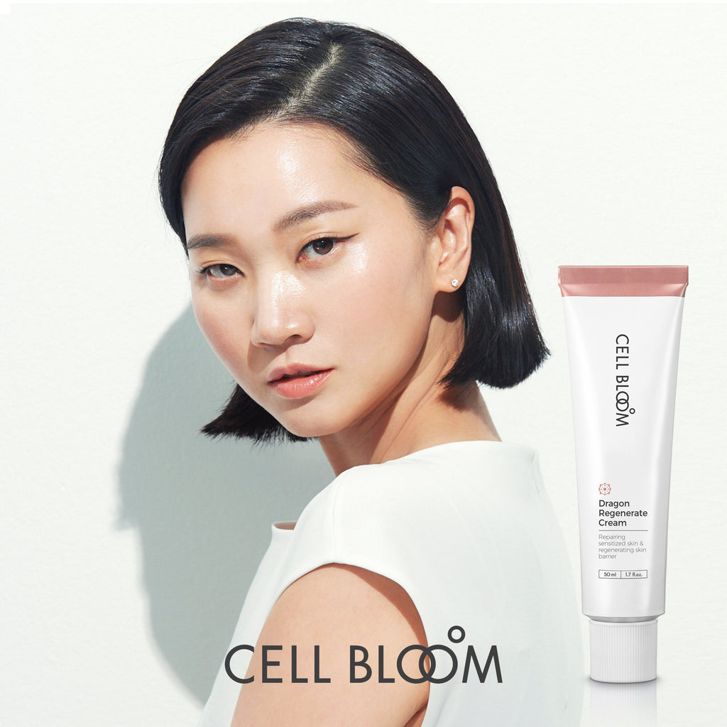 Korean Beauty No. 1 [CELL BLOOM #장윤주 줄기세포 속진정크림] DRAGON REGENERATE Cream contains Stem Cell 50,000ppm I Brightening, Anti-Wrinkle, Hydrating Triple Effects I Leopard Flower 50ml/1.7 fl.oz.