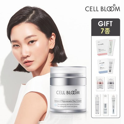 Korean Beauty No.1 Stem Cell Day Cream #셀블룸 줄기세포 데이크림 I Cell Bloom Made By Korean Pharma Company I Stem Cell Conditioned Medium 7,000ppm I Natural Leopard Flower Ingredients| 50ml /1.7 fl.oz.