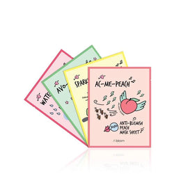 Fruit Masks Variety Pack (12 Sheets) A'BLOOM