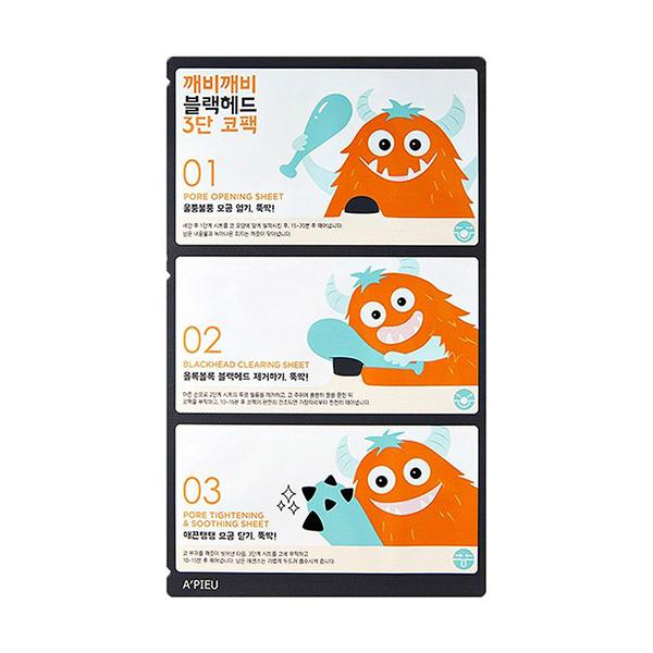 Goblin Blackhead 3 Step Nose Pack (1ea) A'PIEU