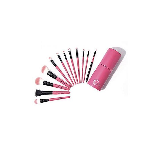 Pink in Pink Make Up Brush Set (12p)