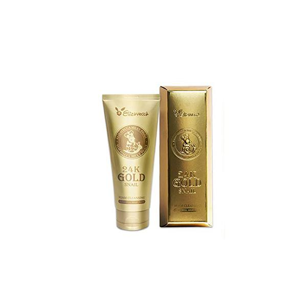 24K Gold Snail Cleansing Foam (180ml) Elizavecca