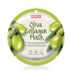 Circle Collagen Mask (1 Sheet) PUREDERM Olive