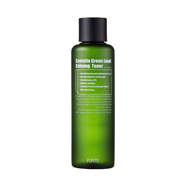 Centella Green Level Calming Toner (200ml) Purito