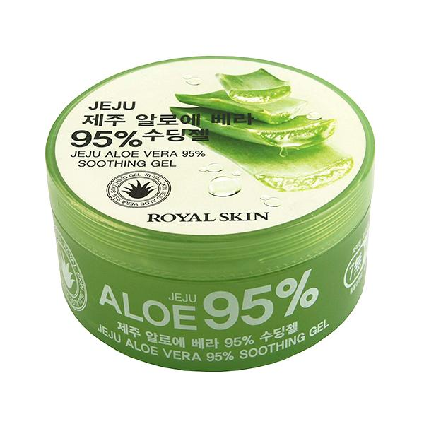 Jeju Aloe Vera 95% Soothing Gel (300ml)