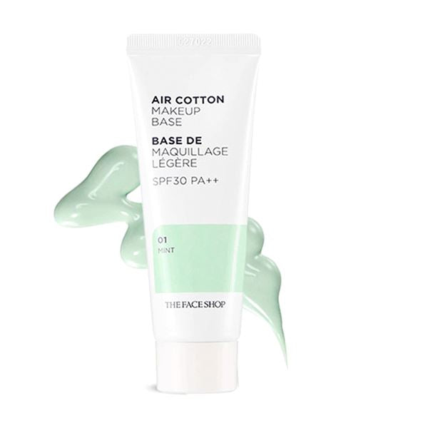 Air Cotton Makeup Base (35g) THE FACE SHOP Mint