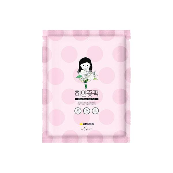 White Flower Mask Pack (1 Sheet) Wangskin