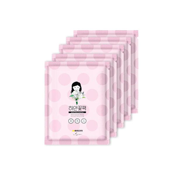 White Flower Mask Pack 5 Sheets (20ml*5)