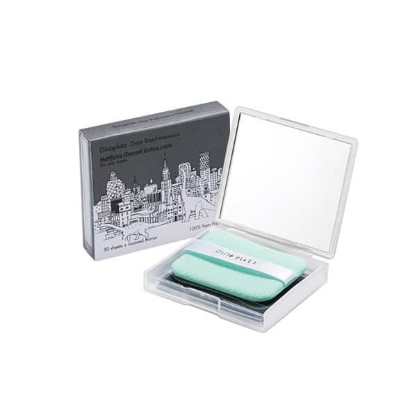 Dinoplatz Dear Brachiosaurus Mattifying Charcoal Blotting Paper (50 sheets) too cool for school