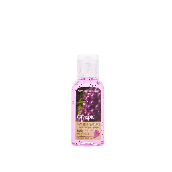 Hand & Nature Sanitizer (30ml)_Grape
