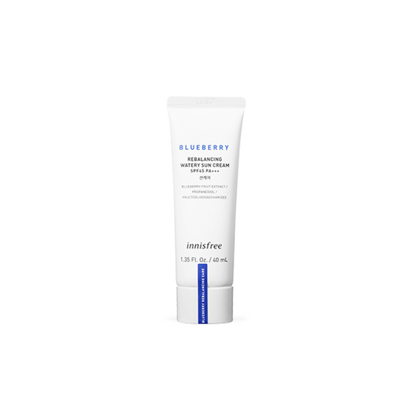 Blueberry Rebalancing Watery Sun Cream SPF45 PA+++ (40ml)